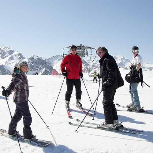 Barèges ski Toue piste La Plage
