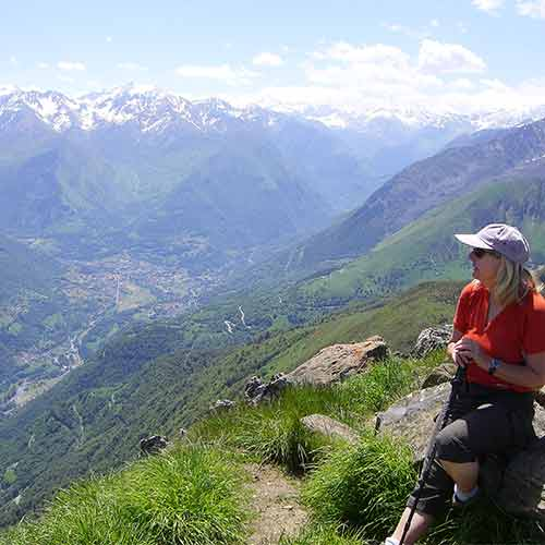 Pyrenees high view