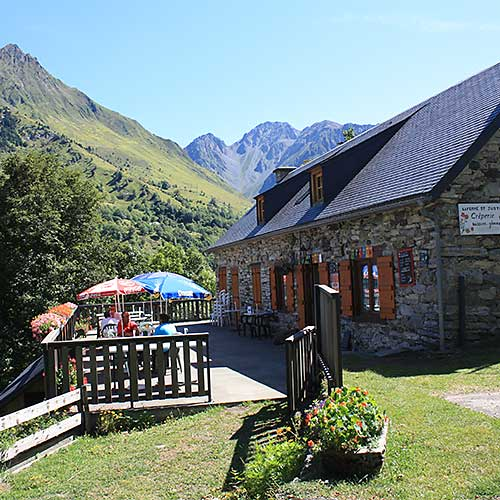 Creperie St Justin Bareges Pyrenees