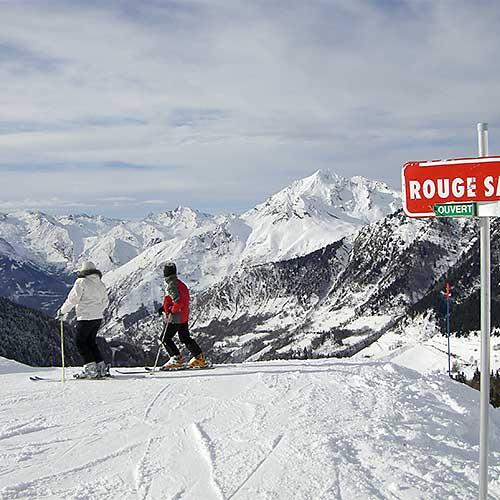Pyrenees skiing Bareges Tourmalet La Mongie