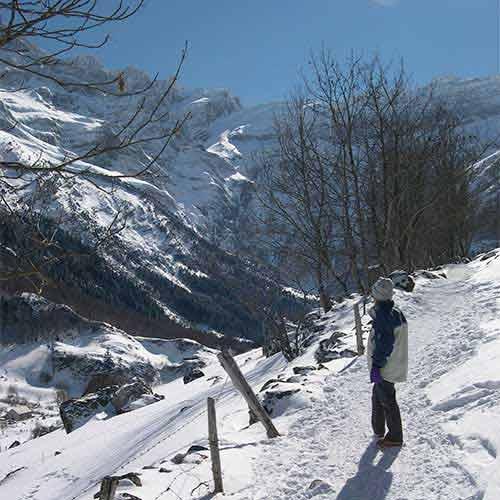 Gavarnie snow